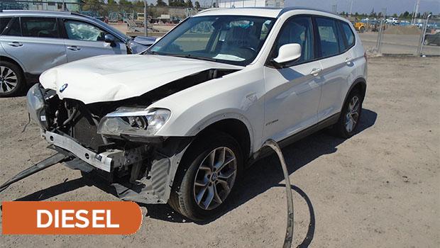 BMW X3 XDRIVE 2.0 AUT 2014 GBHX59