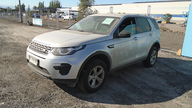 LAND ROVER DISCOVERY SPORT 2.0 2018 KTYY27
